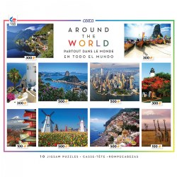 Around the World Puzzle Set (Set of 10)