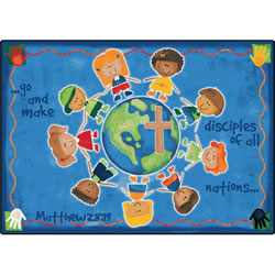 Great Commission KID$ Value PLUS Rug - 8' x 12'