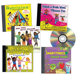 Fitness and Fun CD Collection (Set of 5)