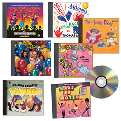Music for Dance, Movement and Exercise CD Set - Set of 7