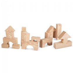 "Jumbo Foam ""Wooden"" Blocks"