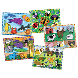 Chunky Puzzle Set 1 (Set of 5)