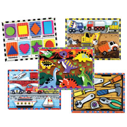 Chunky Puzzle Set 2 - Set of 5