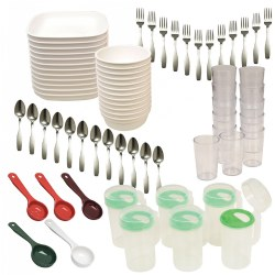 Family Style Dining Kit for 12