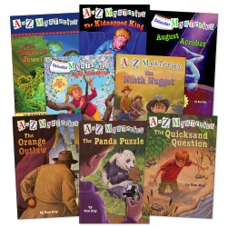 A to Z Mysteries Set 2 - Set of 8