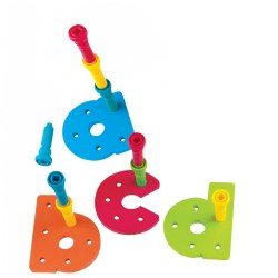 A - Z Pegboard Set Lowercase