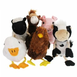Farm Finger Puppets - Set of 6