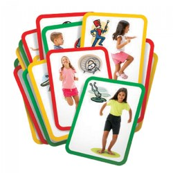 Busy Bodies: Gross Motor Exercise Cards
