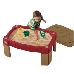 Naturally Playful Sand Table with Lid
