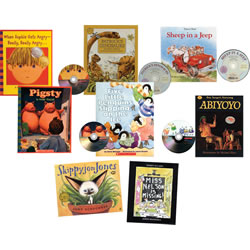 Listen Along Book and CD Set (Set of 8)