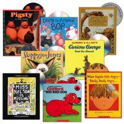 Listen Along Book and CD Set - Set of 8