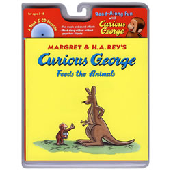 Curious George Feeds the Animals Book and CD