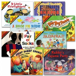 Mathstart Books - Set of 8