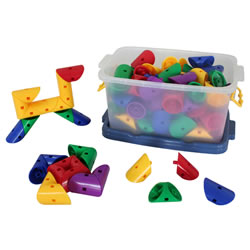 Magic Connectors Building Set with 90 Pieces