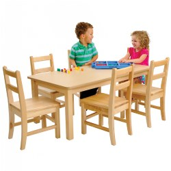 Carolina Line (Birch)  sc 1 st  Kaplan Early Learning : daycare tables and chair set - pezcame.com
