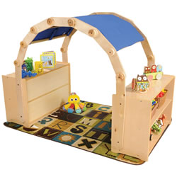 Carolina Toddler Arch and Canopy Set