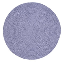 Spring Meadow Round Braided Rug - 8'