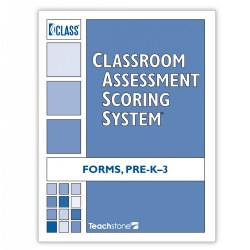 CLASS® Score Sheets, PreK-Third Grade Forms (Set of 5) - English