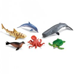 Jumbo Ocean Animals - Set of 6