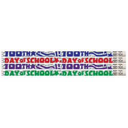 100th Day of School Pencils (box of 12)