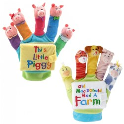 Hand Puppet Book Set 1 - Set of 2