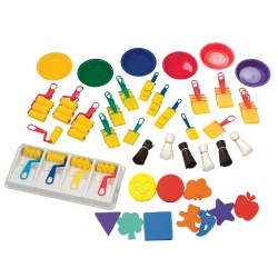 Dip and Dab Sponge Painting Class Kit
