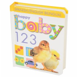 Soft to Touch 123 (Bilingual) - Board Book