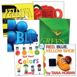 My Colors and Me! Board Books - Set of 6