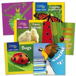 Living Creatures Board Books - Set of 6