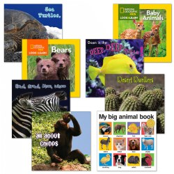 Animal Board Books - Set of 8