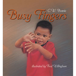 Image of Busy Fingers - Board Book