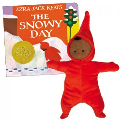 The Snowy Day Plush Doll and Board Book Set