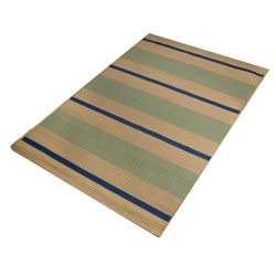 8' x 8' Harwood Stripe Carpet with Pad