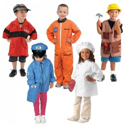 Dramatic Play Costumes (Set of 5)