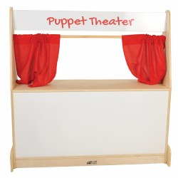 Puppet Theater with Dry Erase Panel