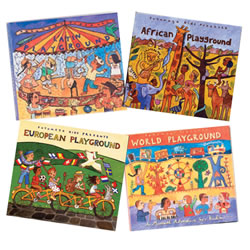 Putumayo Kids Global CD Collection