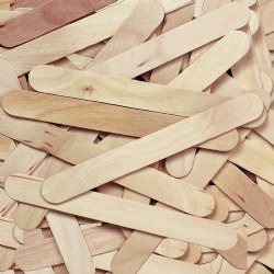 Jumbo Natural Craft Sticks