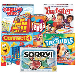 Classic Games for After School (Set of 6)