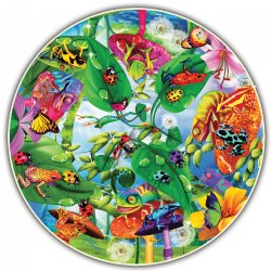 Round Table Puzzle - Creepy Critters - 500 Pieces