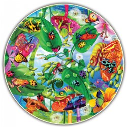 Round Table Puzzle - Creepy Critters (500 Pieces)