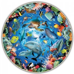 Round Table Puzzle - Ocean View - 500 Pieces