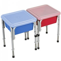 Two-Way Sensory Play Table with Lid