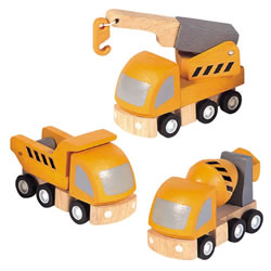 Highway Maintenance Vehicles - Set of 3