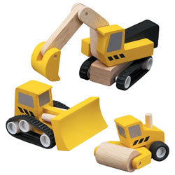 Road Construction Vehicles - Set of 3