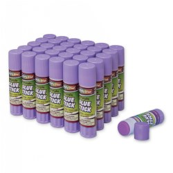 Purple Glue Sticks - Set of 30
