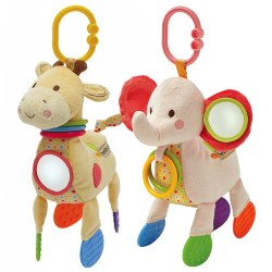 Asthma & Allergy Friendly Developmental Plush Animal Toys
