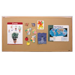 Bulletin Board Wood Frame 4' x 6'