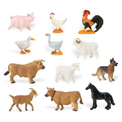 Farm Animal Minis - Set of 12