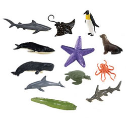 Ocean Animal Minis - Set of 12