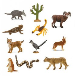 Desert Animal Minis TOOB® - Set of 11